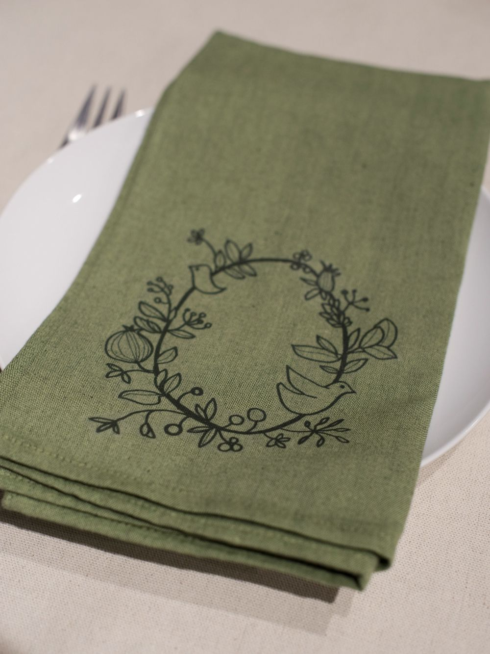 table napkin designs instructions