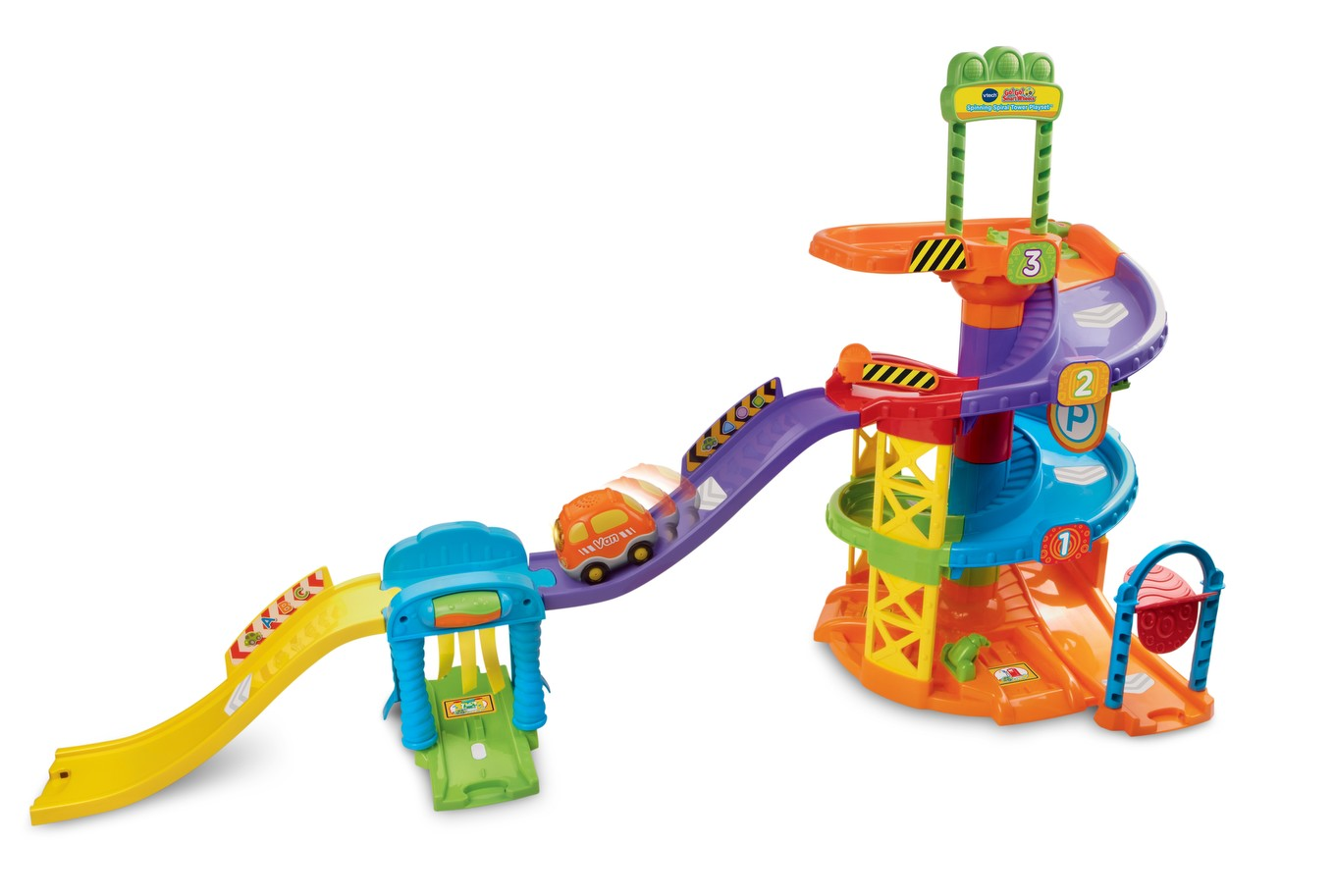 spinning spiral tower playset instructions