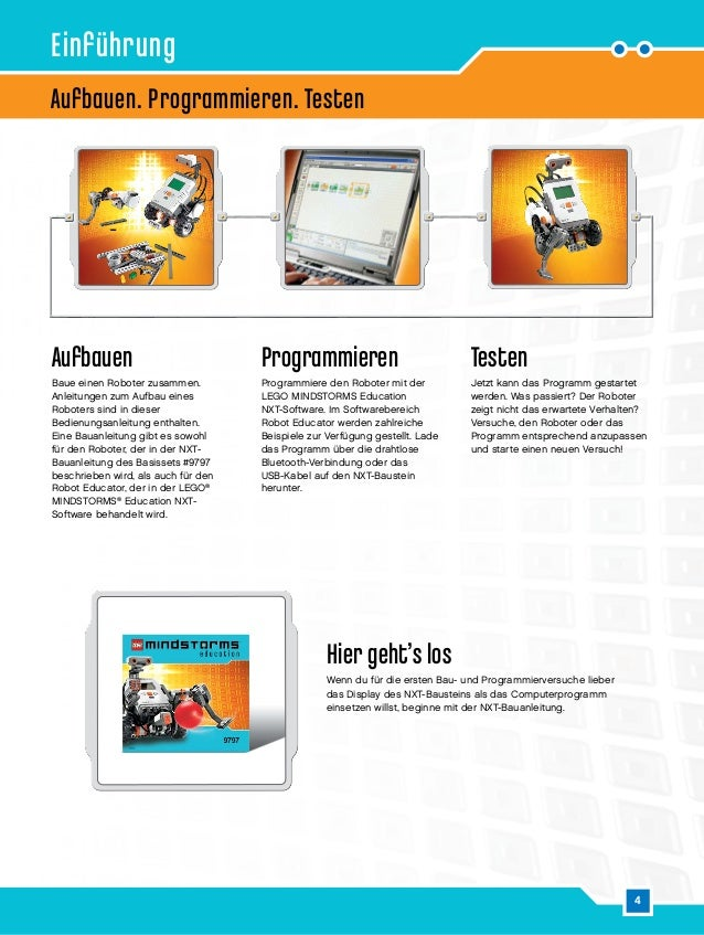 mindstorms education 9797 instructions