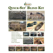 avery quick set boat blind instructions