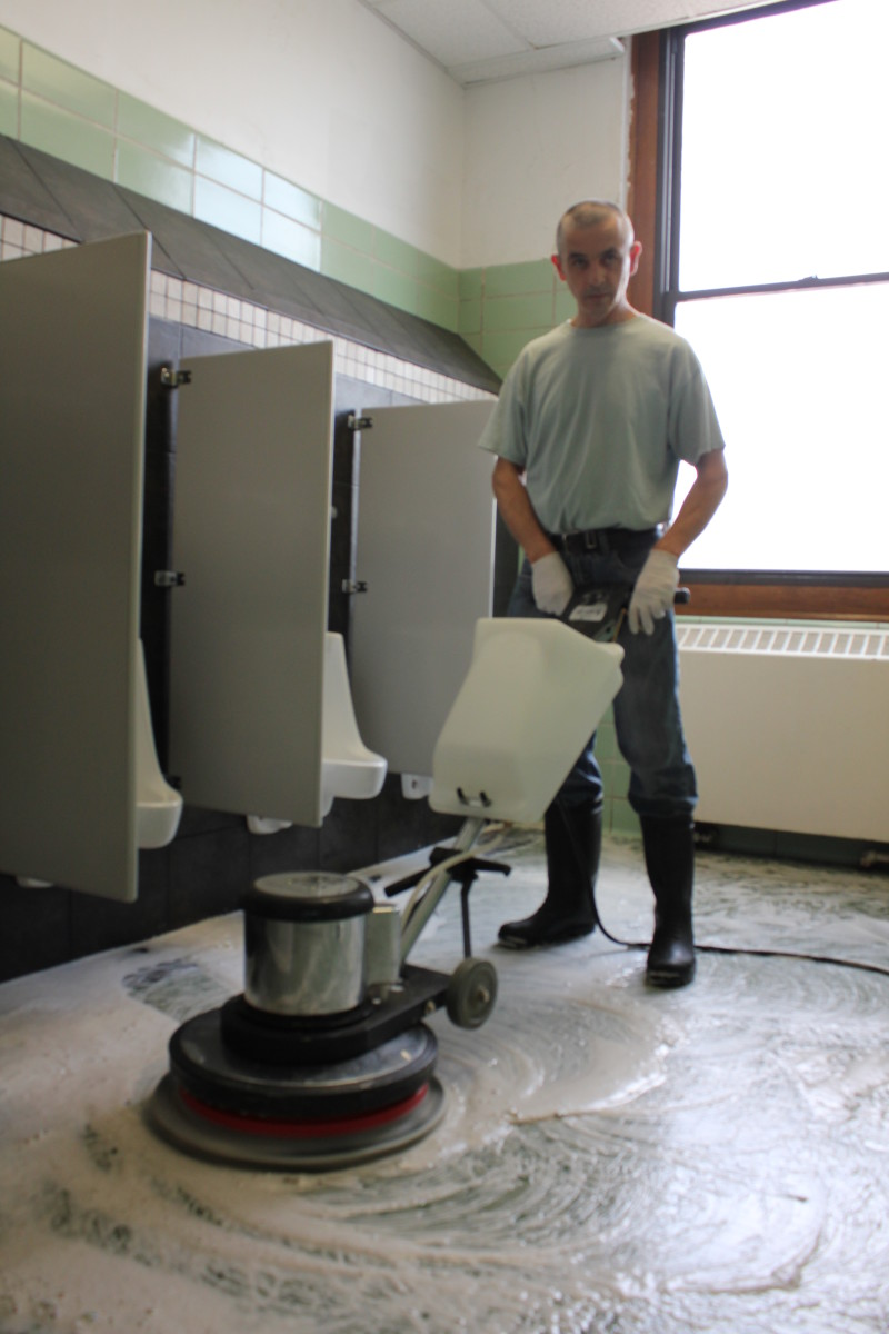 stripping and waxing floors instructions
