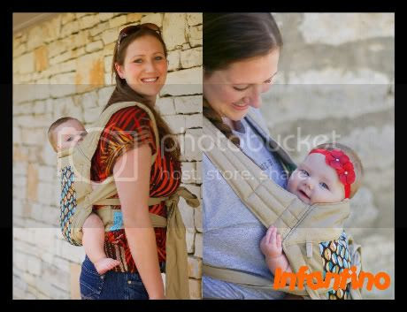infantino wrap and tie baby carrier instructions