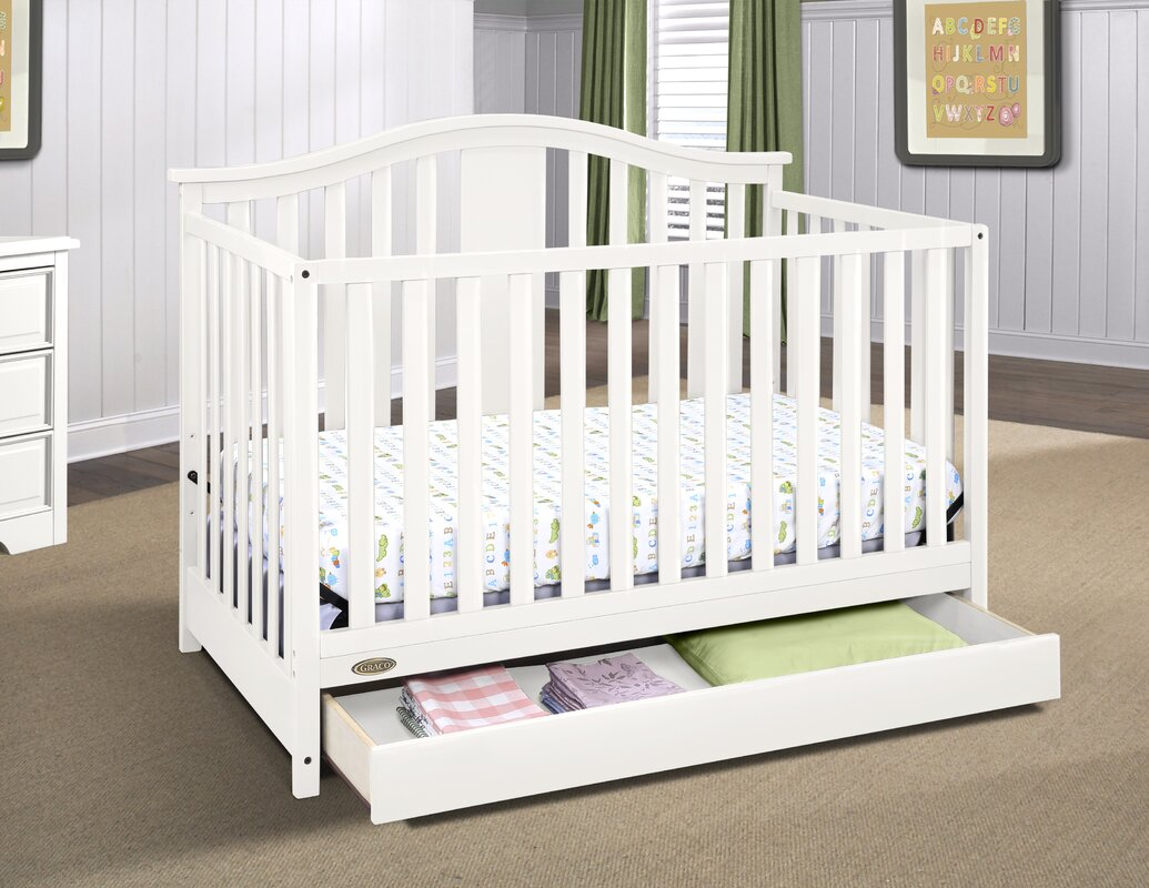 graco solano 4 in 1 convertible crib with drawer instructions