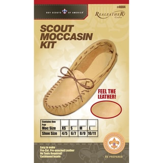 tandy leather moccasin kit instructions