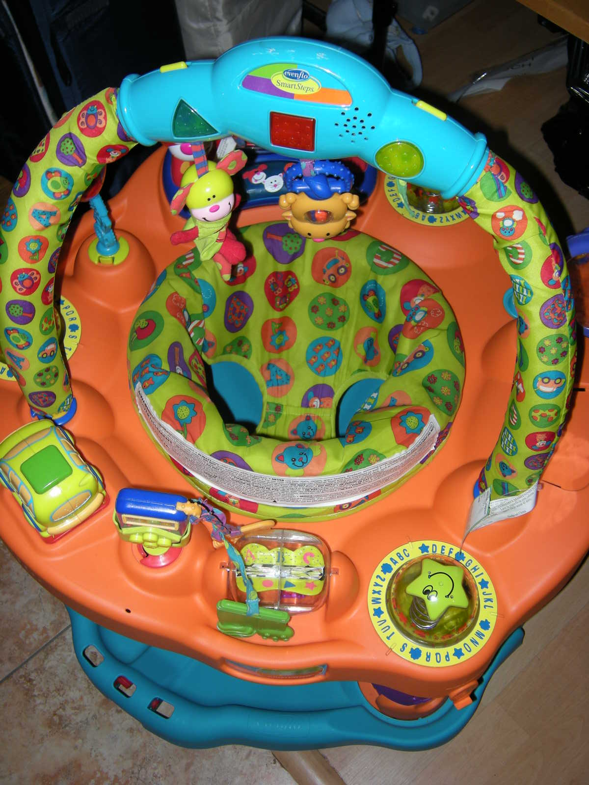 fisher price bounce and spin pony instruction manual
