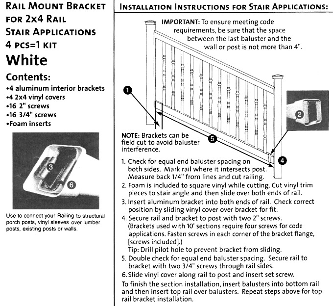 bufftech fence installation instructions
