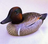 duck decoy painting instructions