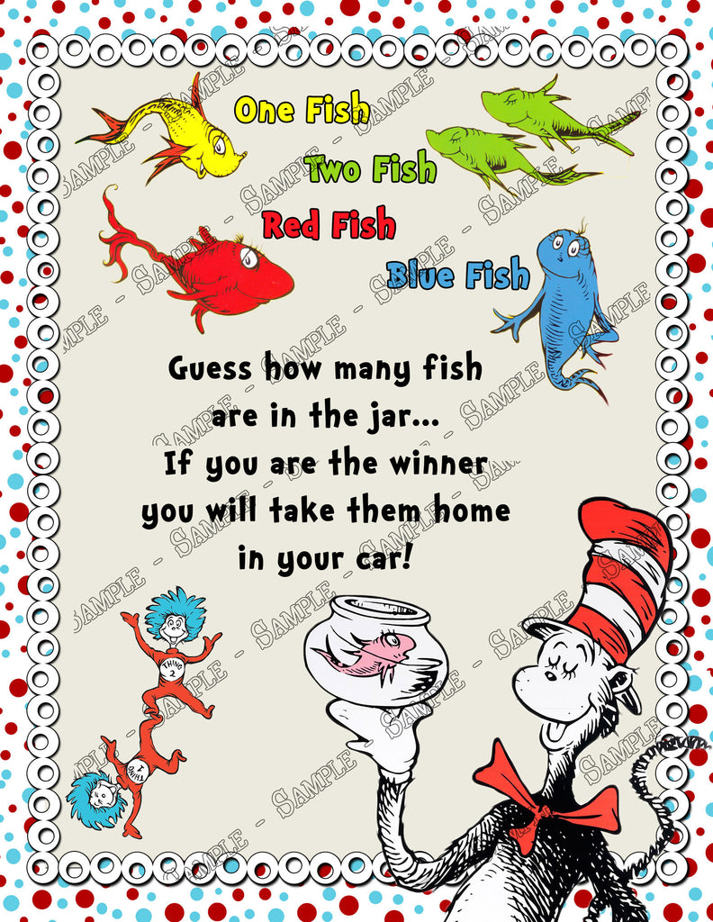 one fish two fish game instructions