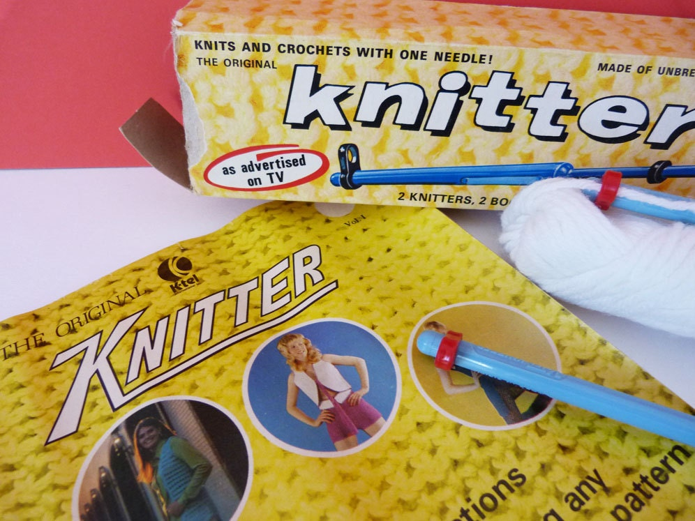k tel knitter instructions and patterns