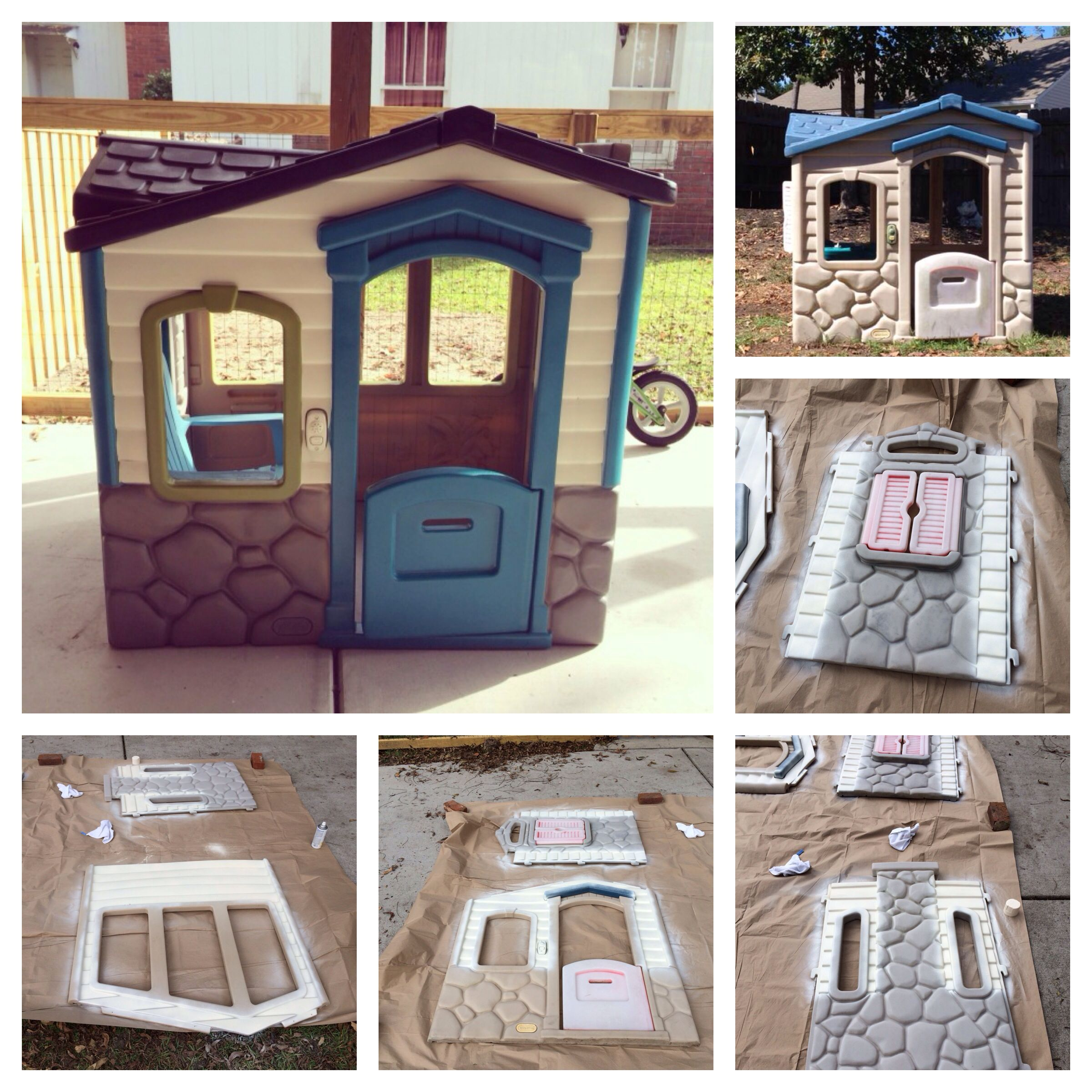 little tikes playhouse instructions