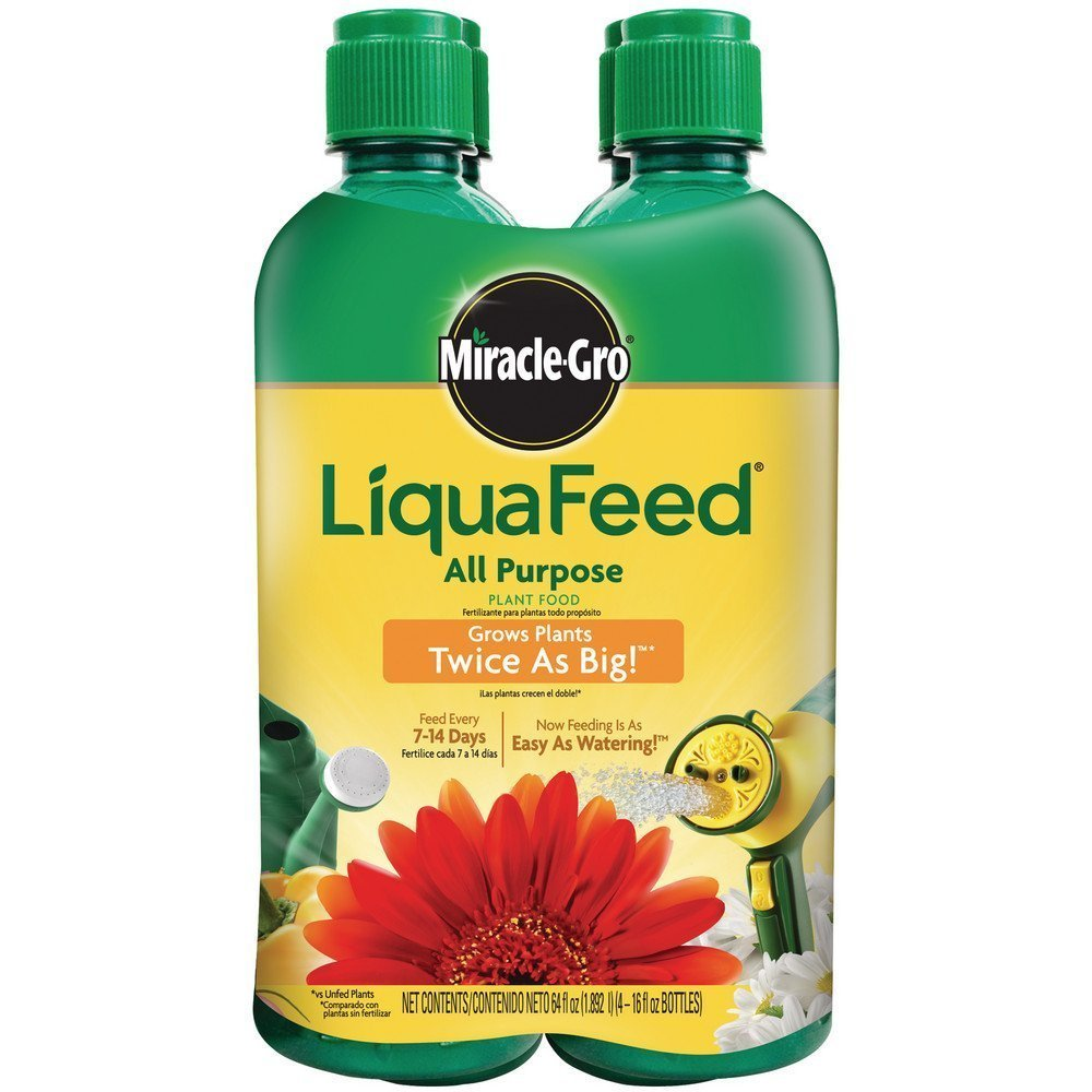 miracle gro liquafeed instructions