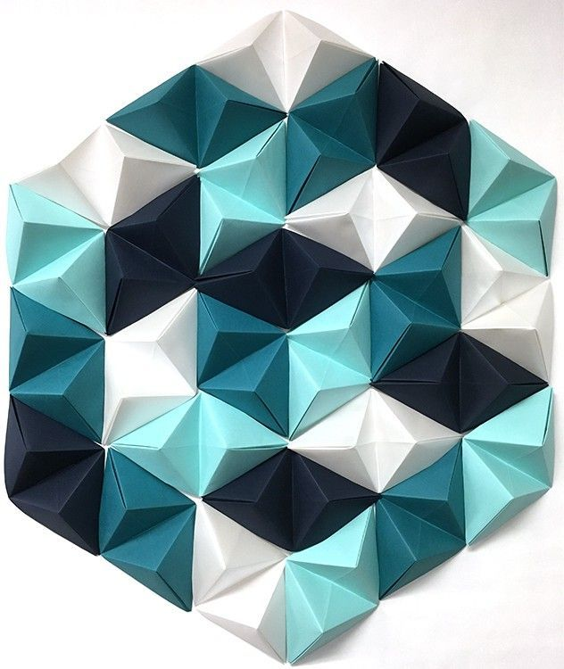 origami wall decorations instructions
