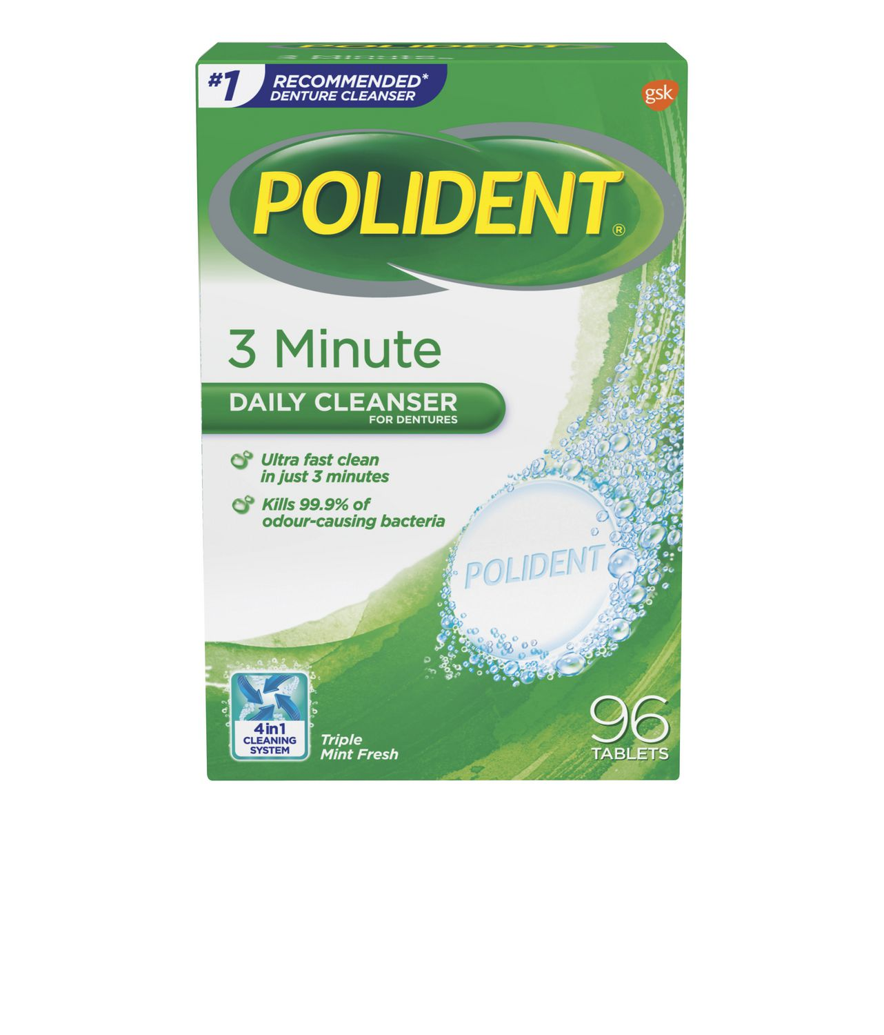 polident 3 minute instructions