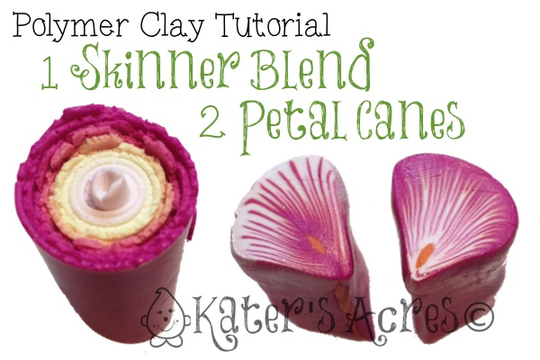 polymer clay canes instructions
