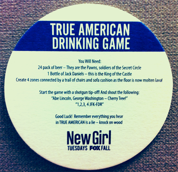true american drinking game instructions